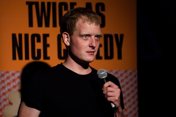 Edinburgh Fringe 2013. Twice as Nice Comedy at Drop Kick Murpheys as part of The Free Fringe ©Richard Davenport